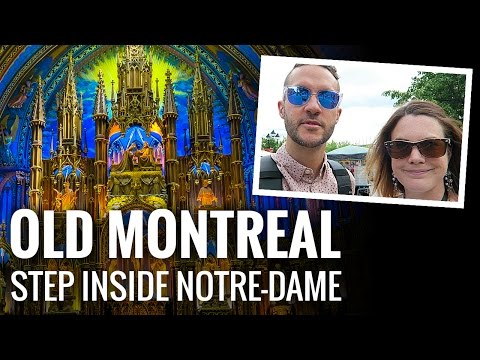 Explore OLD MONTREAL & NOTRE-DAME