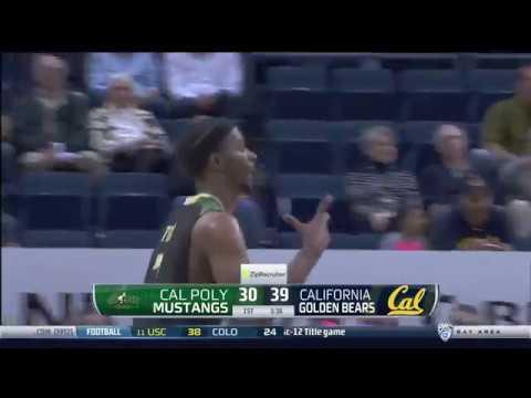 Cal Poly basketball highlights from November 12, 2017