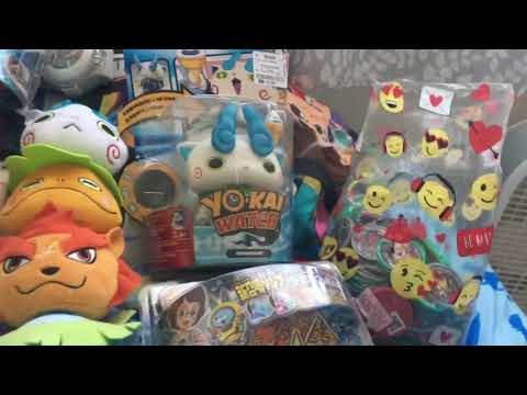 All you kai watch toys(sorry for quality)