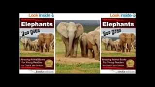 Elephant Features -- Elephants For Kids -- Amazing Animal Books For Young Readers