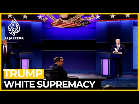 Trump refuses to denounce White supremacists