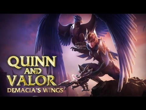 Quinn and Valor: Champion Spotlight | Gameplay - League of Legends