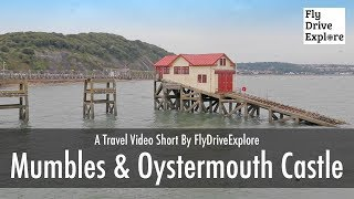 Mumbles & Oystermouth Castle - A Quick Tour Of Swansea Bay,  Wales