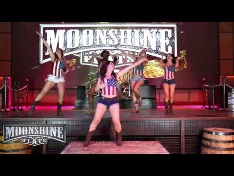 Barefoot Blue Jean Night Line Dance Tutorial | Moonshine Flats