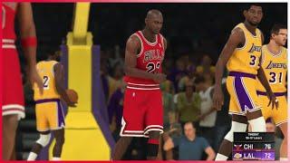 Chicago Bulls 1998 vs Los Angeles Lakers 1989 🏀 (NBA 2k20)