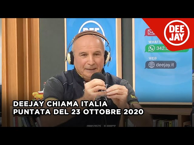 Deejay Chiama Italia - Puntata del 23 ottobre 2020