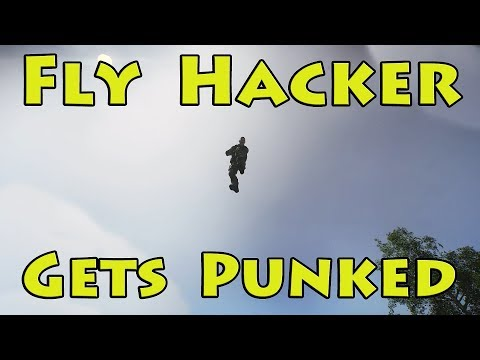 Fly Hacker Gets Punked - Escape From Tarkov