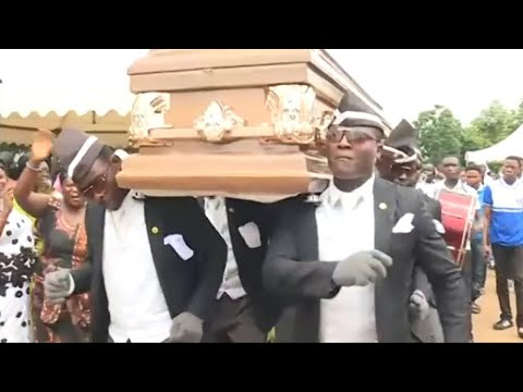 Dancing Funeral Coffin Meme | Original Full Version 1080p