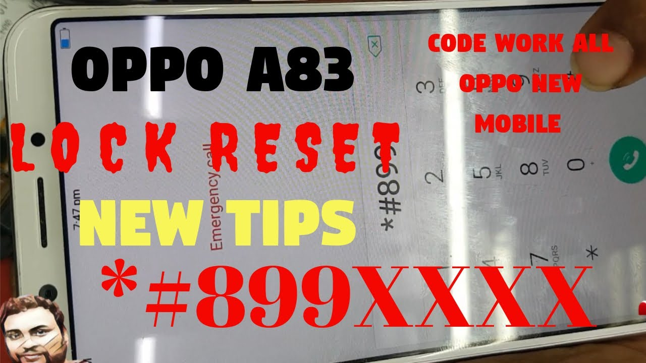 OPPO A83 PASSWORD PATTERN RESET NEW TIPS