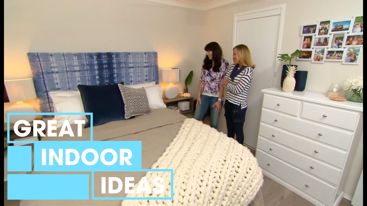 Hampton Coastal Bedroom Makeover