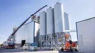 Invigning av Finja Betongs fabrik i Strängnäs