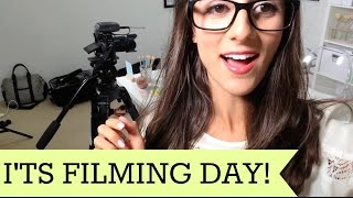 How I Film My Episodes! |Study With Jess Vlogs|