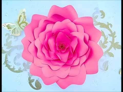 DIY Paper Flower Rose Tutorial and Patterns