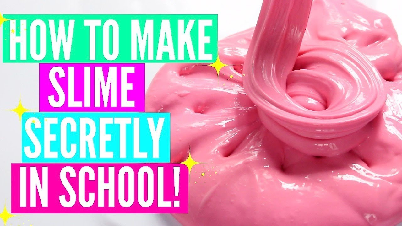 How to make slime in school without getting caught how to make how to make slime in school without getting caught how to make jiggly slime glossy clicky slime ccuart Images
