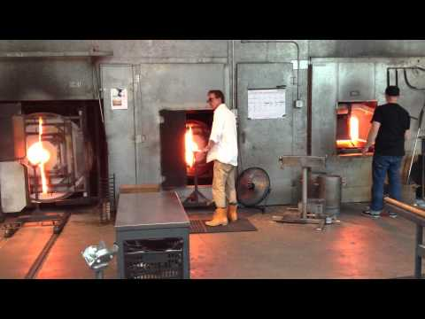 Glass Blowing at Chihuly's studio