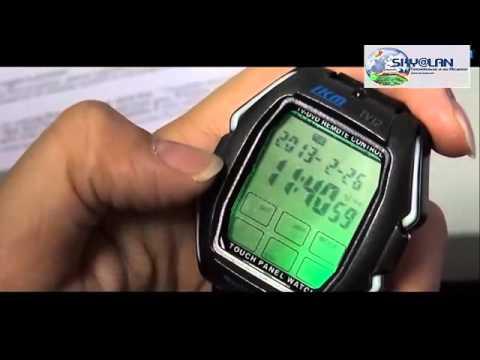 Reloj Tactil Con Control Remoto Universal