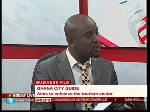 Ghana Cities Guide Project feature on TV3 Ghana   26 03 2015