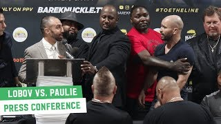 Artem Lobov vs. Paulie Malignaggi | Full Pre-Fight Press Conference