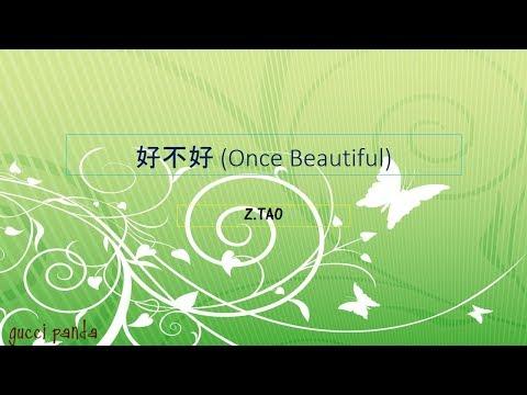 好不好 Once Beautiful - Z.TAO (lyric)