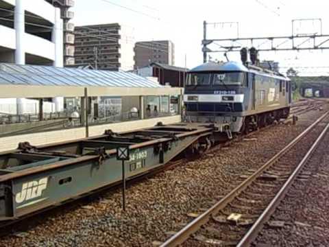 JRF EF210  空転発進音  草津駅