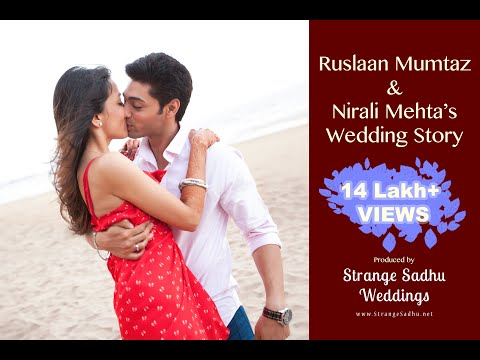 Ruslaan Mumtaz & Nirali Mehta's Wedding Story by Strange Sadhu Weddings