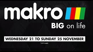 Makro Black Friday 2018 | mCard Black Friday | Makro Black 5 Day