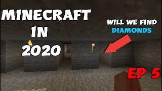 MINECRAFT in 2020 episode 5 (Strip Mining)