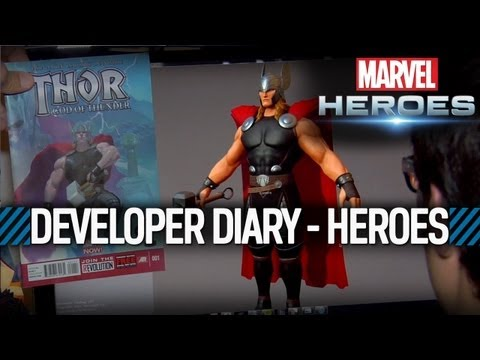 Marvel Heroes: Developer Diary #3 - Building a Hero