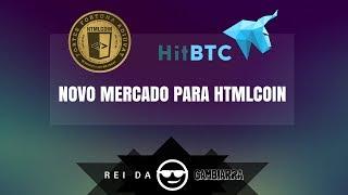 NOVIDADE - HTMLCOIN E HITBTC