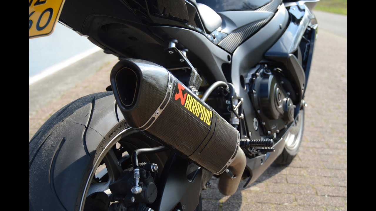 gsx r 750 l0 akrapovic hexagonal full titanium system. Black Bedroom Furniture Sets. Home Design Ideas