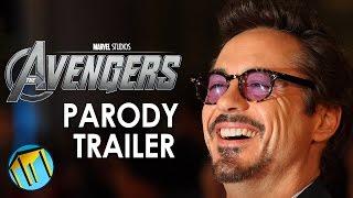 Marvel's The Avengers As A Comedy - Parody Trailer