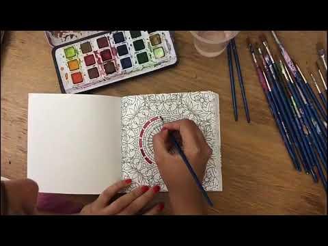 Satisfying Mandala | Shraddha Jain | The Art Ghar