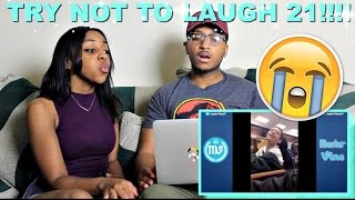 Couple Reacts : Try Not To Laugh Or Grin Part 21!!!