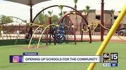 Phoenix schools open for the community