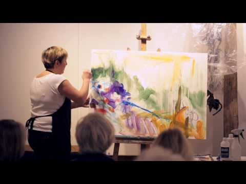 West Vancouver Ferry Building Gallery - Artist Talk / Demo PART 1