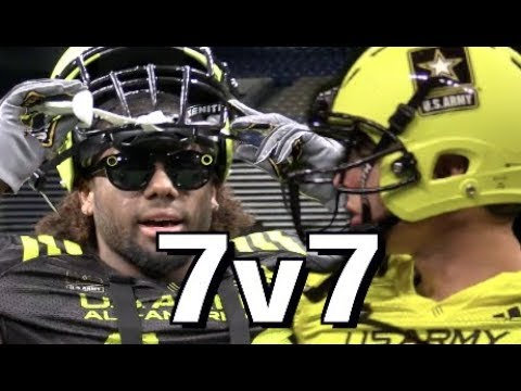🔥🔥 7-on-7 U.S Army All American Bowl : East vs West 2018