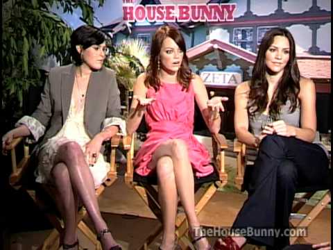 The House Bunny Interviews With Anna Faris And Emma Stone And Katharine Mcphee Youtube
