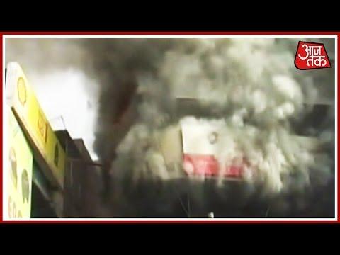 Major Fire Breaks Into Delhi's Tyre Factory, No Casualties Reported