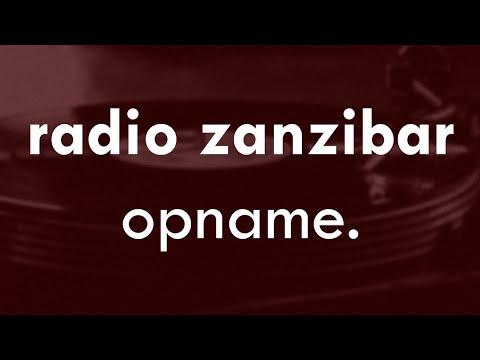 Radio Zanzibar Opname   1-11-14
