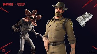 NEW FORTNITE X STRANGER THINGS COLLAB GIFTING NEW NETFLIX STRANGER THINGS COLLAB SKINS FORTNITE SKIN