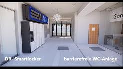 Bahnhof Pinneberg: Rundgang durch das neue Empfangsgebäude (Visualisierung)