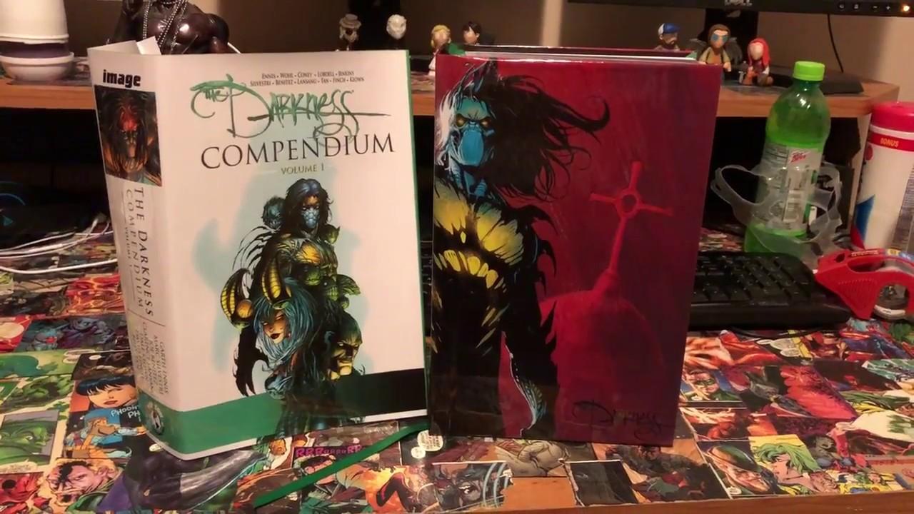 The Darkness Compendium Vol 1 CUSTOM BIND! - YouTube