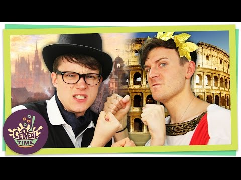 Victorians VS Romans | Cereal Time