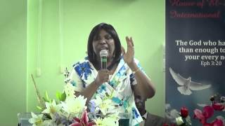 House of El Shaddai International 20.07.14 - Rev. Collier
