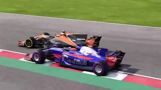 F1 2017 Career mode Highlights season 1