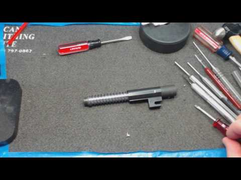 FN 5.7 Barrel and Recoil Spring disassembly and reassembly