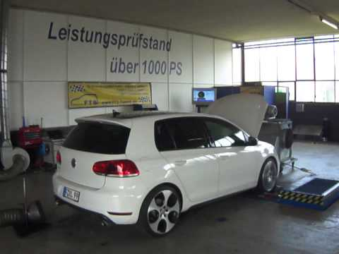 golf 6 gti chiptuning fts youtube. Black Bedroom Furniture Sets. Home Design Ideas
