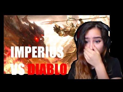 Diablo 3: Imperius VS Diablo Reaction!