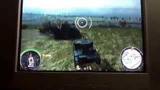 World of tanks(xbox360)-M3 lee and at-1 gameplay