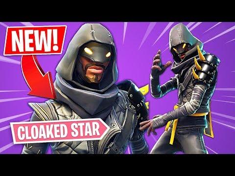 """New NINJA """"Cloaked Star"""" Skin!! (Fortnite Ninja Skin ..."""